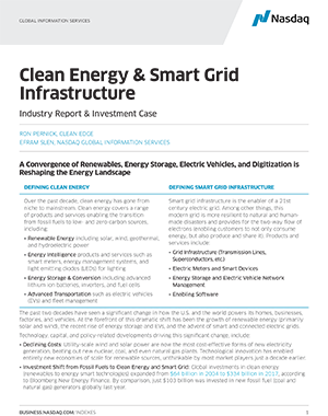 Clean Energy & Smart Grid Infrastructure