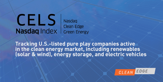 Nasdaq Clean Edge Green Energy Index Cels Clean Edge