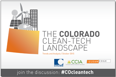 The Colorado Clean-Tech Landscape