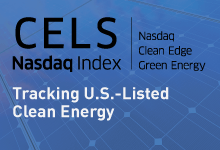 Nasdaq Clean Edge Green Energy Index (CELS)