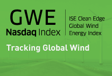 ISE Clean Edge Global Wind Energy Index (GWE)