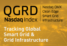 Nasdaq OMX Clean EdgeSmart Grid Infrastructure Index (QGRD)