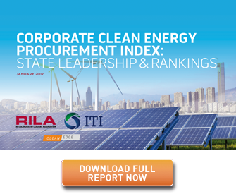 Corporate Clean Energy Procurement Index Cover and Download Button
